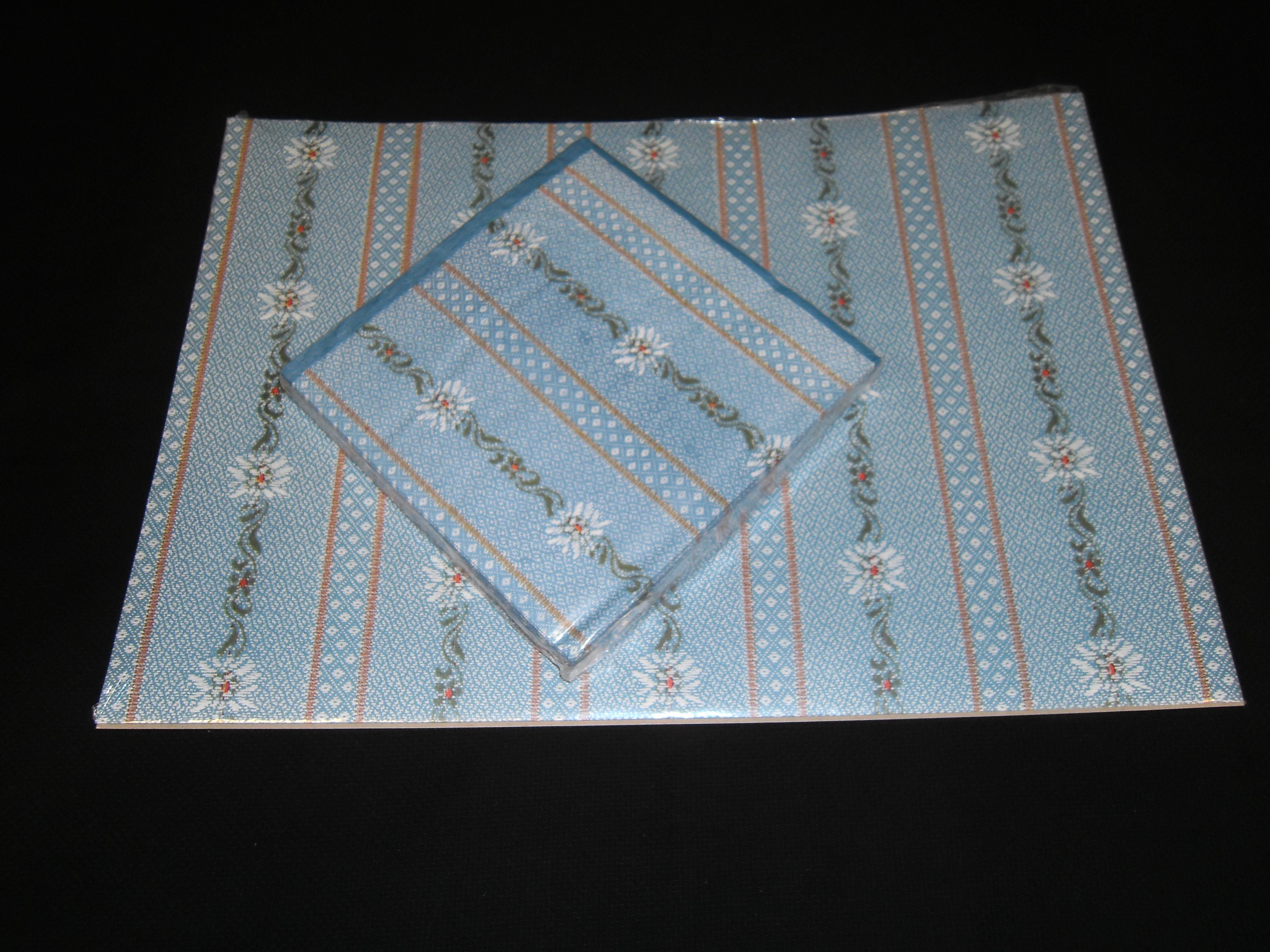 tischset papier mit servietten edelweiss 20 st ck gantenbein urn sch. Black Bedroom Furniture Sets. Home Design Ideas